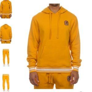 Golden Glow Mustard Gold Yellow Hustle Gang Suit